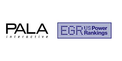 Pala Interactive Rank #13 in the USA EGR Top 20